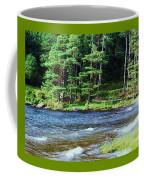 Waves On The Lake At Glendalough Coffee Mug
