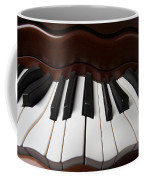 Wavey Piano Keys Coffee Mug