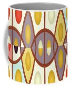Wavy Geometric Abstract Coffee Mug