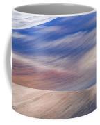 Wavy Hills Abstract. Moravian Tuscany Coffee Mug