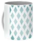 Wavy Light Teal Braids Coffee Mug