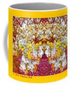 Waxleaf Privet Blooms In Autumn Tones Abstract Coffee Mug