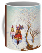 Way From The Church, Jozef Theodor Mousson, 1931 Coffee Mug