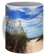 Way Out To The Beach Coffee Mug