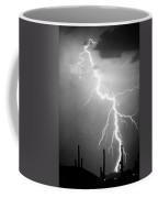 Way Too Close For Comfort Bw Print Coffee Mug