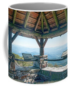 Wayah Bald Observation Tower - Macon County, North Carolina Coffee Mug