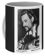 Waylon Jennings 1971 Signed Coffee Mug