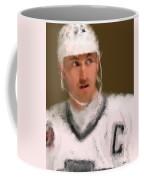Wayne Gretzky Kings Portrait Coffee Mug