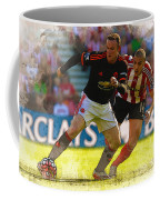 Wayne Rooney Is Marshalled Coffee Mug