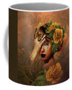 Blooms A Fragile Yellow Rose Coffee Mug