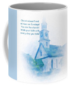 We Are The Church Coffee Mug