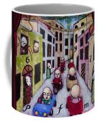 We Race Unaware Toward The End Of Days Coffee Mug
