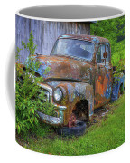 Wears Valley 1954 Gmc Wears Valley Tennessee Art Coffee Mug