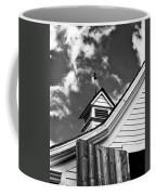 Weather Vane Bw Coffee Mug