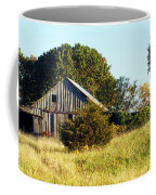 Weathered Barn In Fall Coffee Mug