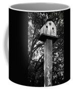 Weathered Bird House Coffee Mug