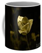 Weathered Golden Tulip Coffee Mug