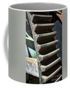 Weathered Metal Cogs Coffee Mug