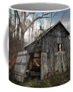 Weathered Old Abandoned Barn Coffee Mug