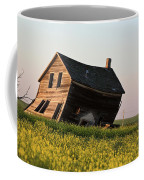 Weathered Old Farm House In Scenic Saskatchewan Coffee Mug