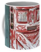 Weathered Red Door 1 Coffee Mug