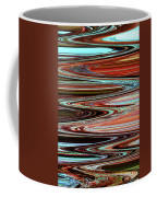 Weathered Roots Abstract Coffee Mug