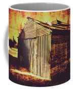 Weathered Vintage Rural Shed Coffee Mug