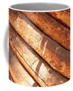 Weathered Wood Log Cabin Coffee Mug