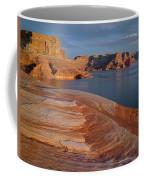 Weathering Pit Ridge Sunset Coffee Mug