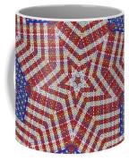 Weave A Star And Rainbow Coffee Mug