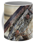 Web Covered Wheel Coffee Mug