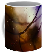 Web With Droplets Coffee Mug
