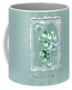 Wedding Happiness Greeting Card - Lily Of The Valley Flowers Coffee Mug