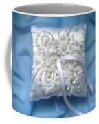Wedding Ring Pillow. Ameynra Beadwork Coffee Mug