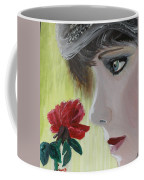 Wedding Rose Coffee Mug