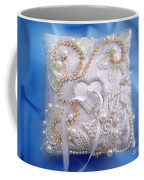 Weding Ring Pillow. Ameynra Design Coffee Mug