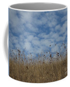 Weeds And Dappled Sky Coffee Mug