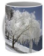 Weeping Willow In Infrared Coffee Mug