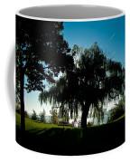 Weeping Willow Silhouette Coffee Mug