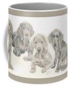 Weimaraner Puppies Coffee Mug
