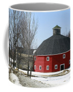 Welch Round Barn Coffee Mug