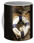 Welcome Aboard Nautical Paradise Coffee Mug