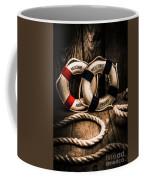 Welcome Aboard The Dark Cruise Line Coffee Mug