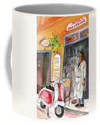 Welcome To Italy 04 Coffee Mug by Miki De Goodaboom