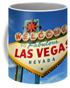 Welcome To Las Vegas Sign Coffee Mug
