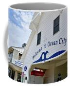 Welcome To Ocean City Maryland Coffee Mug
