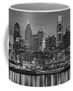 Welcome To Penn's Landing Bw Coffee Mug