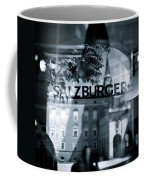 Welcome To Salzburg Coffee Mug by Dave Bowman
