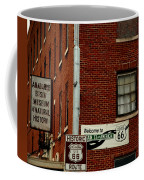 Welcome To The Main Street Of America Coffee Mug