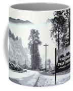 Welcome To Twin Peaks Coffee Mug